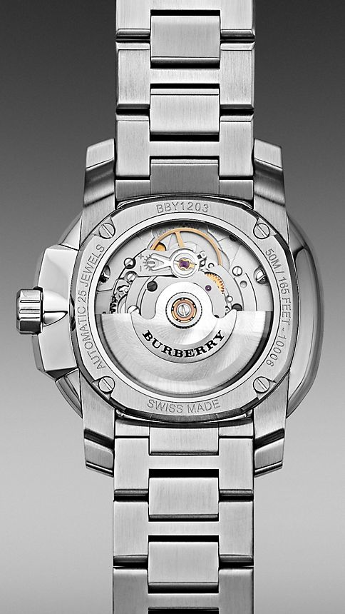 Acier Montre automatique The Britain BBY1203 43 mm - Image 4