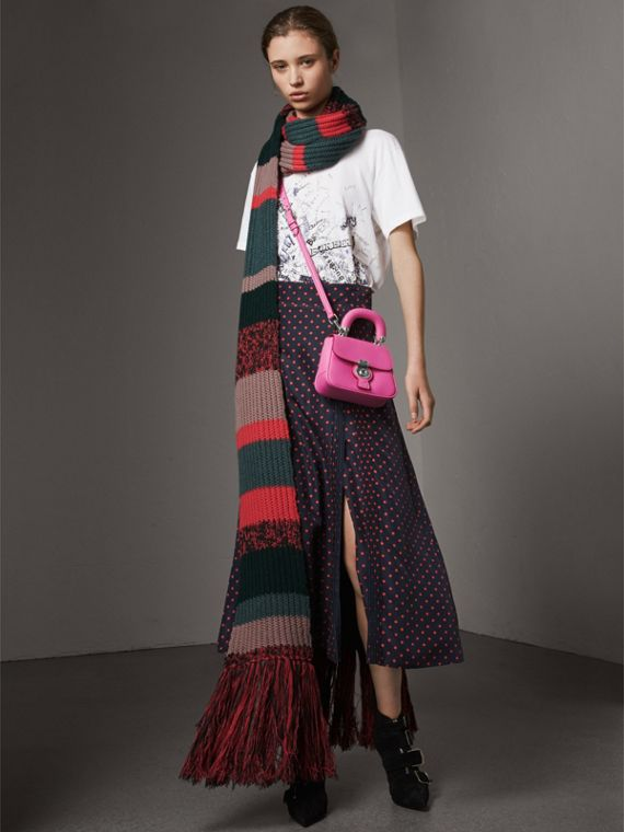 The Mini DK88 Top Handle Bag in Rose Pink - Women | Burberry Canada - cell image 2