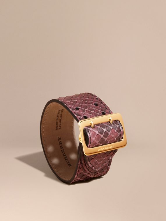 Python Cuff in Elderberry