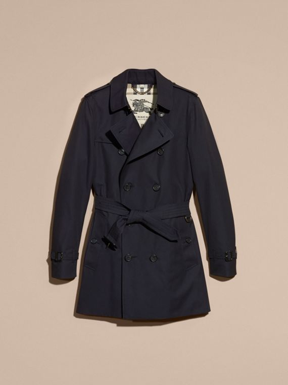 Navy The Sandringham – Mid-length Heritage Trench Coat Navy - cell image 3
