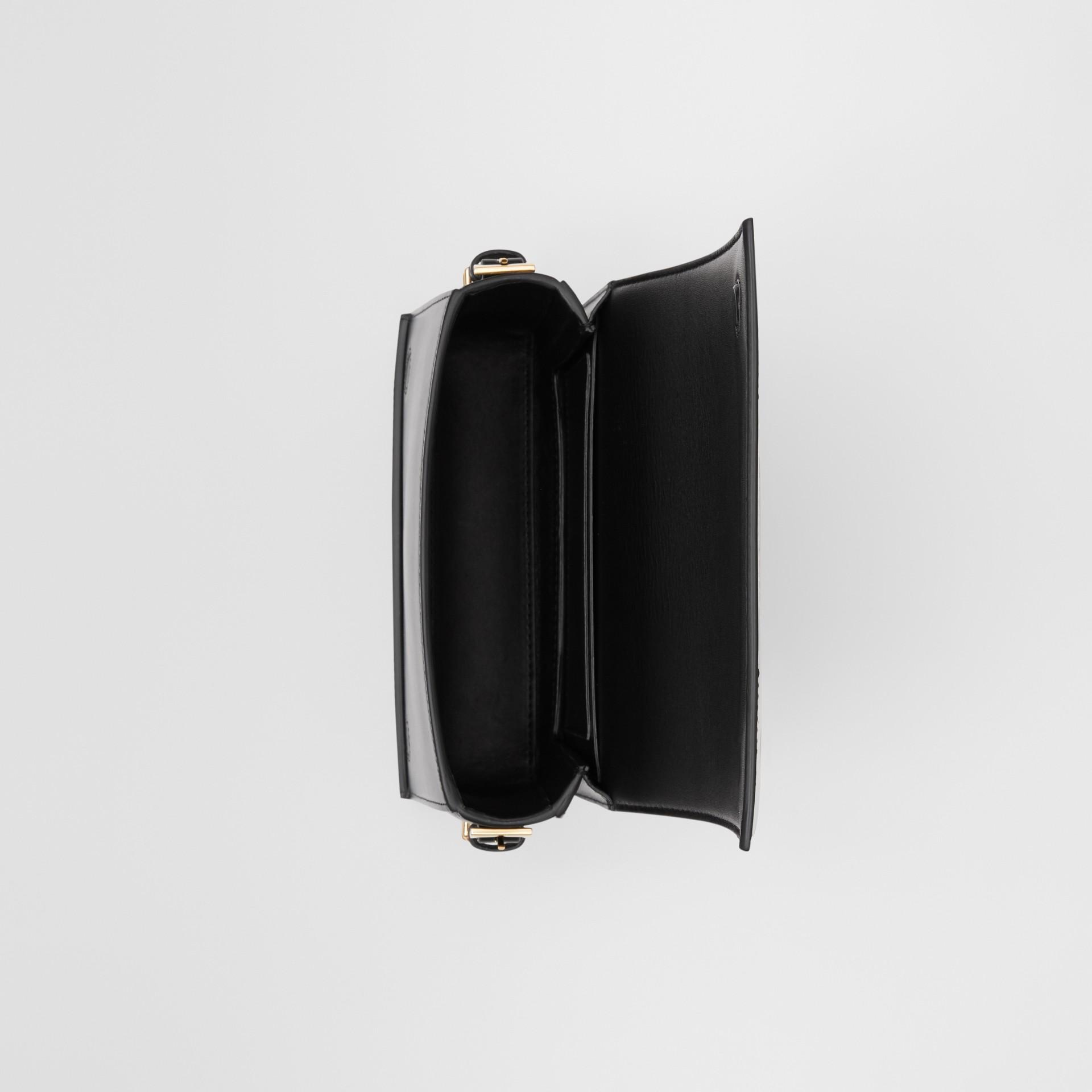 Petit sac Grace en cuir à imprimé léopard (Moutarde Sombre) - Femme   Burberry - photo de la galerie 3