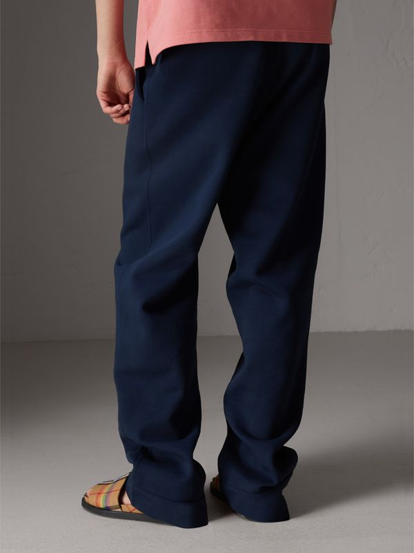 Archive Logo Jersey Sweatpants in Dark Blue - Women | Burberry - cell image 2