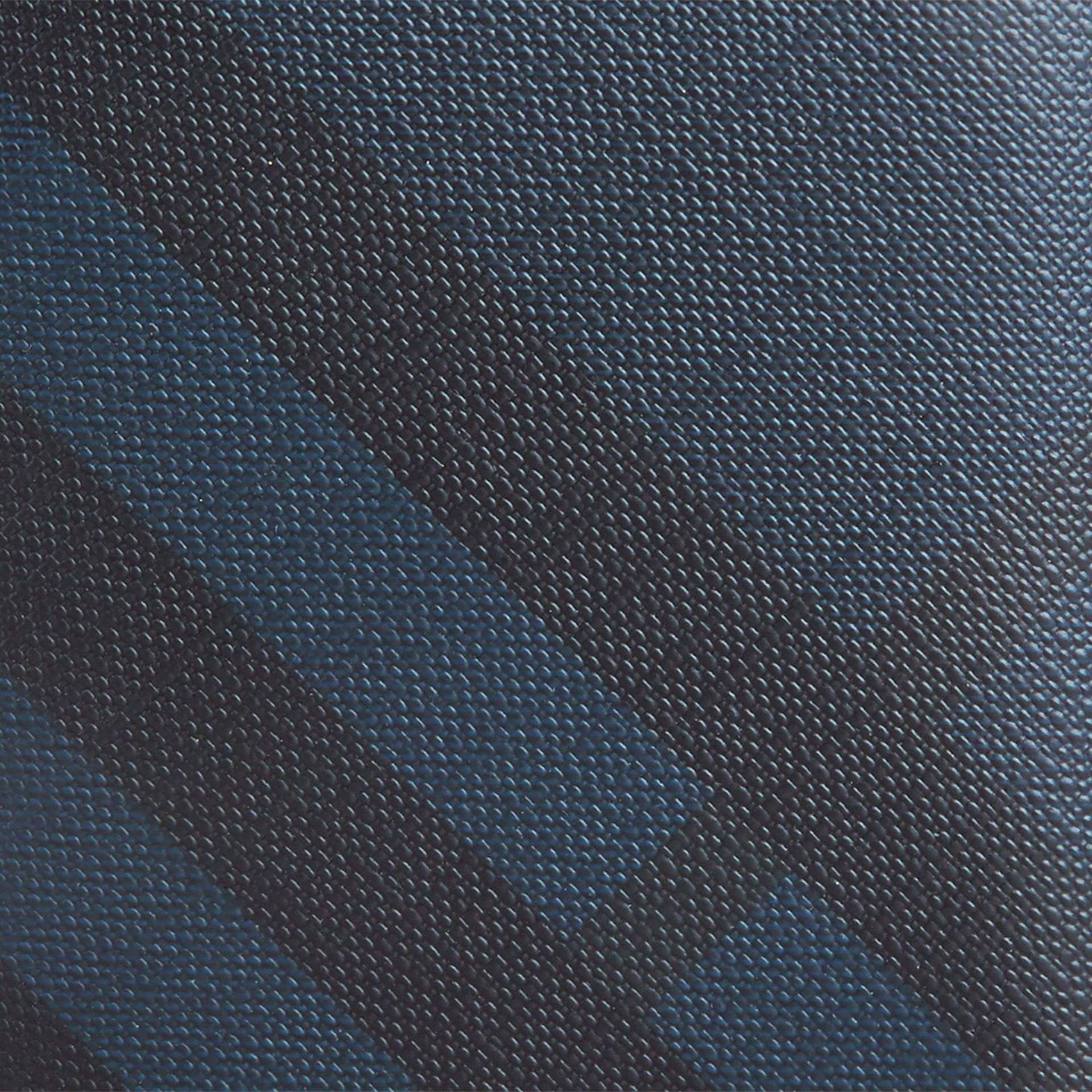 Navy/black London Check ID Wallet Navy/black - gallery image 2