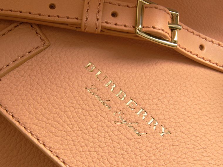 The Bridle Bag in Deerskin in Pale Clementine - Women | Burberry - cell image 1