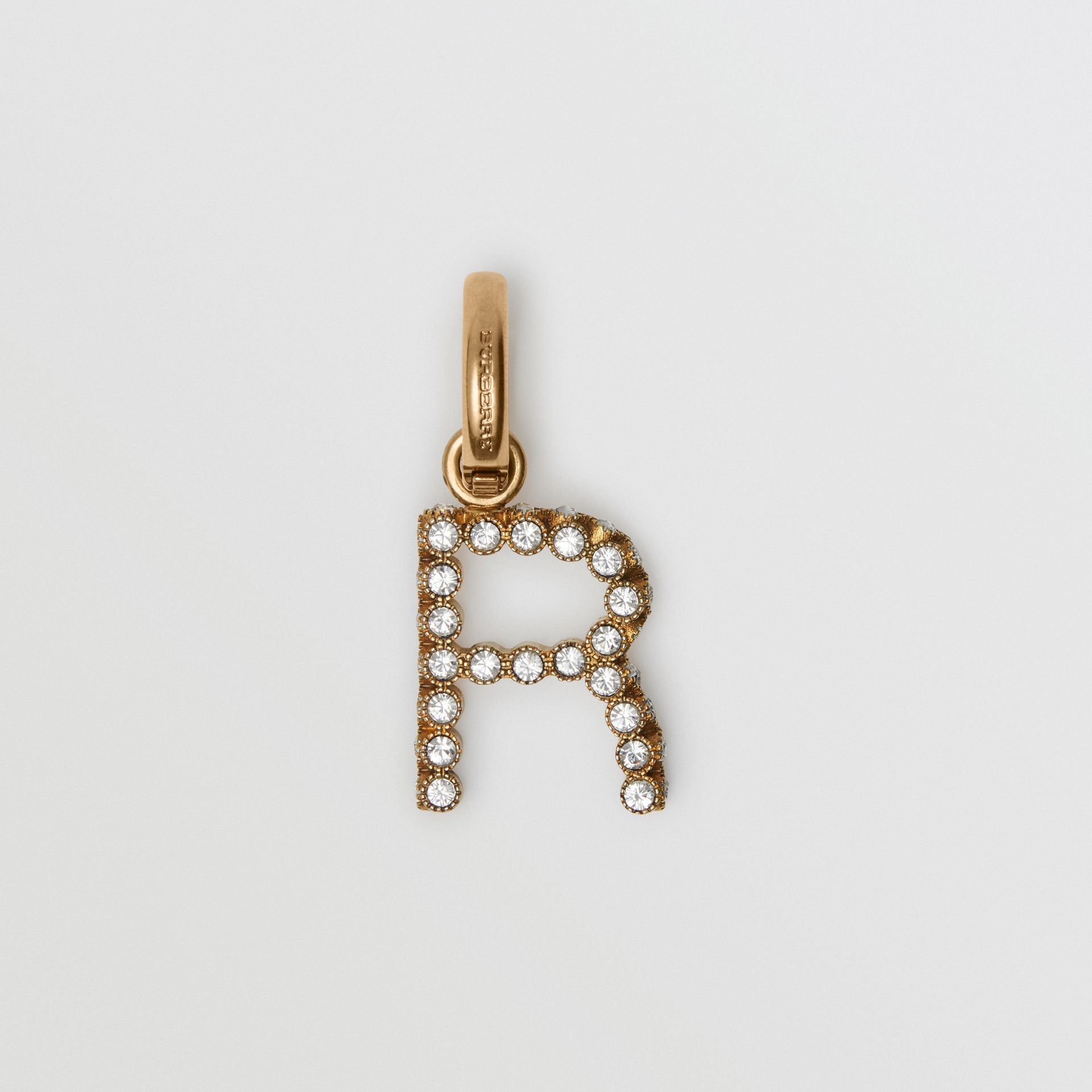 Crystal 'R' Alphabet Charm - Women | Burberry United States - gallery image 0