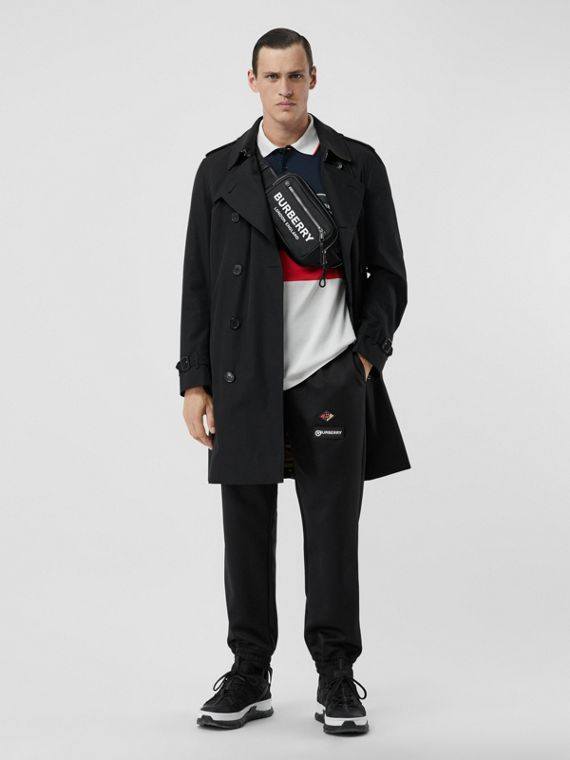 Trench coat Heritage The Kensington medio (Nero)