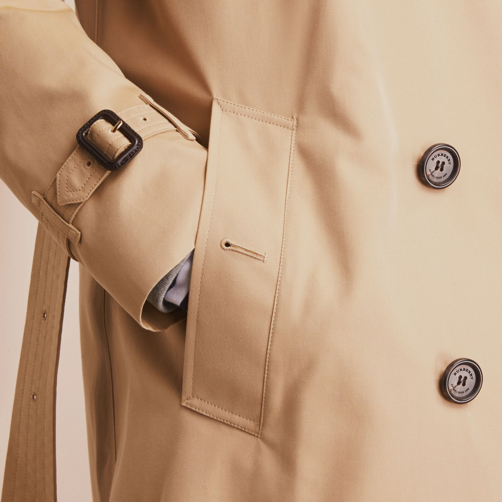 Miel The Kensington – Trench-coat Heritage long Miel - photo de la galerie 7