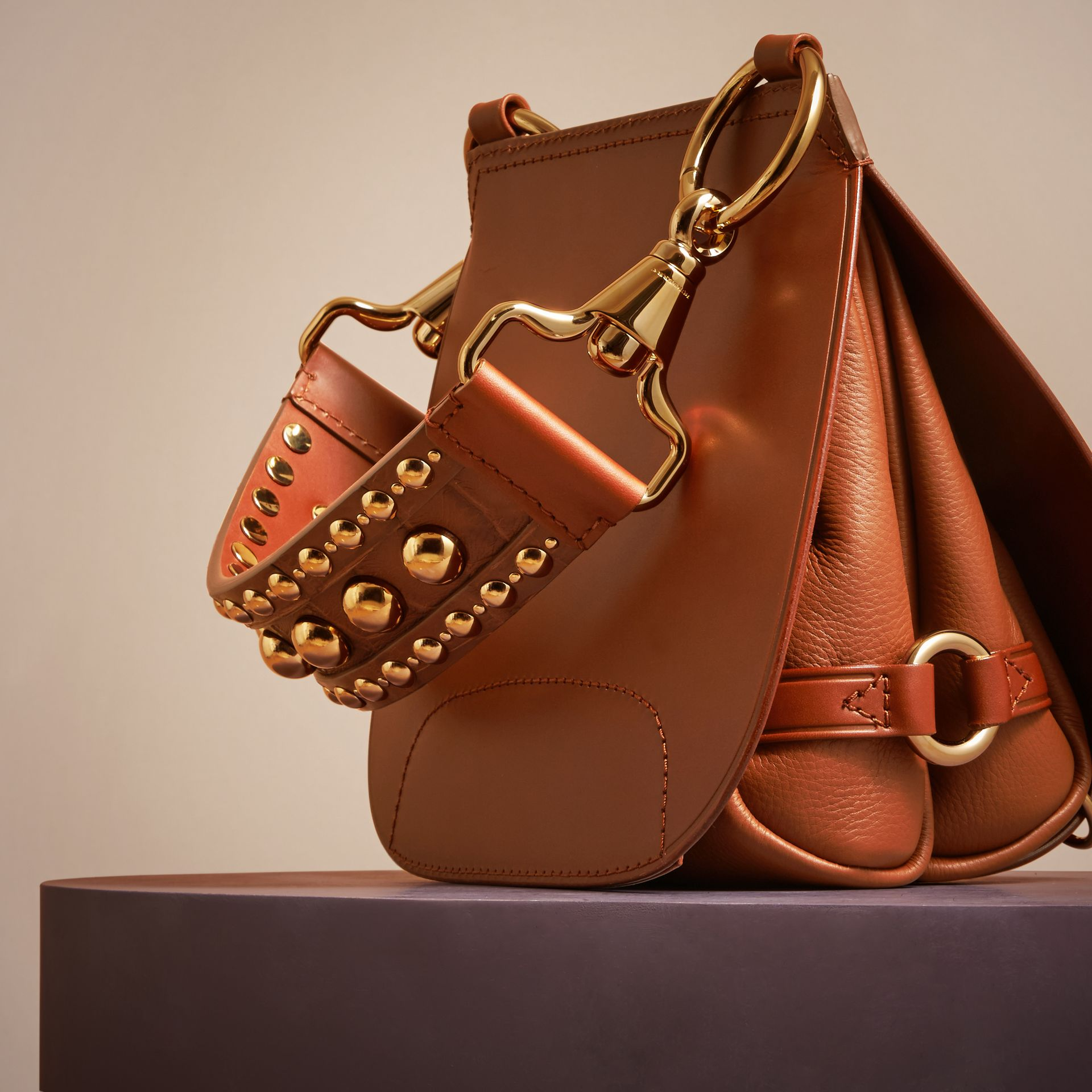 Sac The Bridle en cuir et alligator - photo de la galerie 2