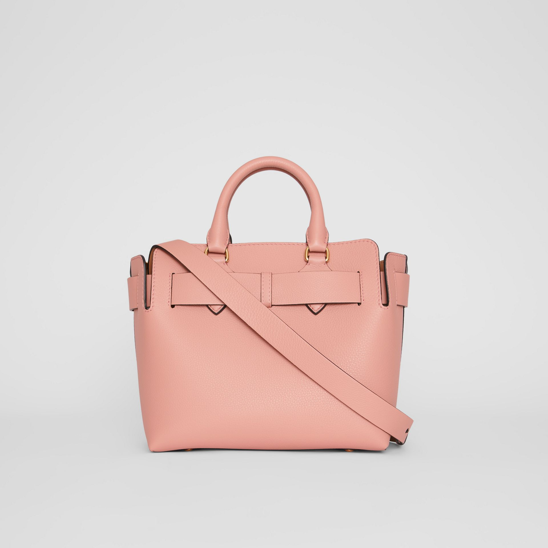 The Small Leather Belt Bag in Ash Rose - Women | Burberry United Kingdom - gallery image 7