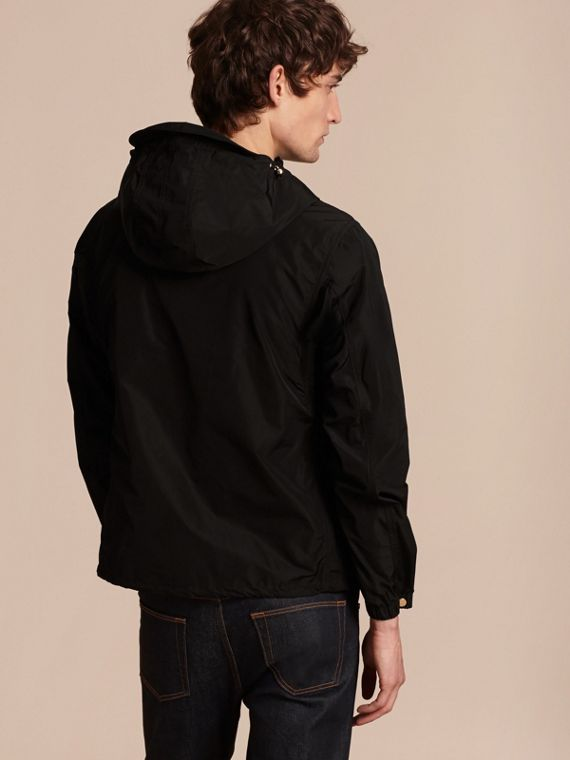Hooded Lightweight Technical Jacket - cell image 2