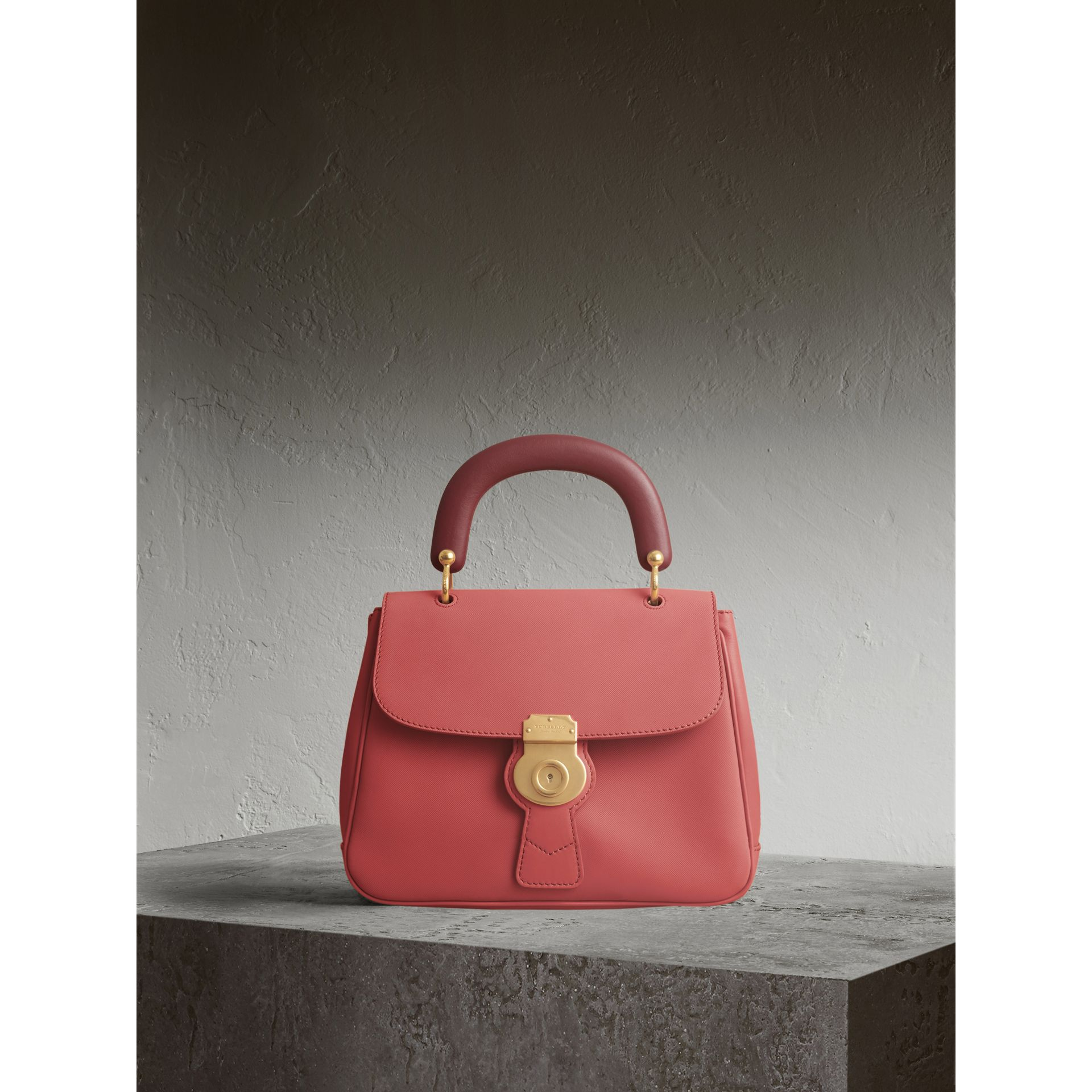 The Medium DK88 Top Handle Bag in Blossom Pink - Women | Burberry Singapore - gallery image 1