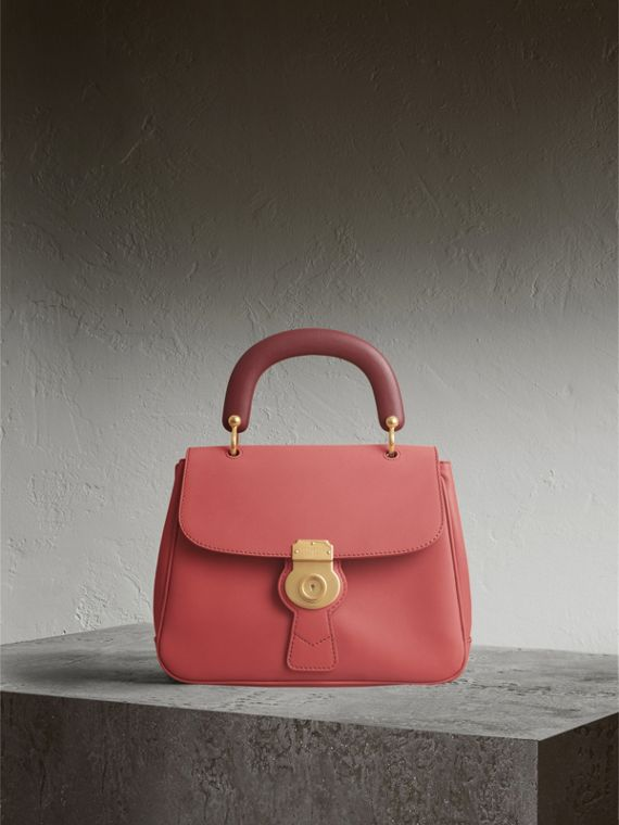 The Medium DK88 Top Handle Bag in Blossom Pink - Women | Burberry