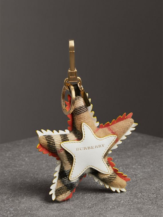 Phil the Starfish Cotton Charm in Orange/multicolour | Burberry - cell image 3