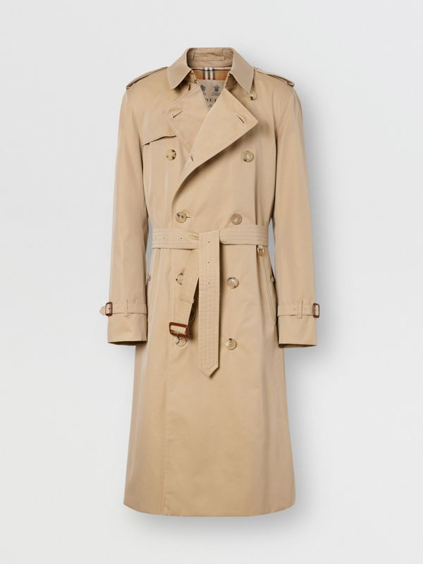 The Chelsea - Trench coat Heritage longo (Mel) - Homens | Burberry - cell image 3