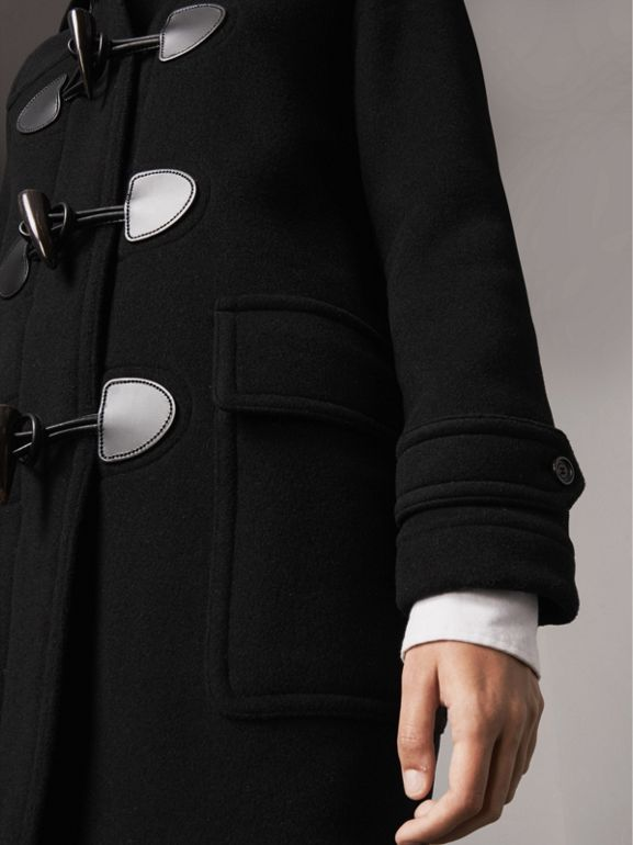 The Mersey Duffle Coat in Black - Women | Burberry United Kingdom - cell image 1