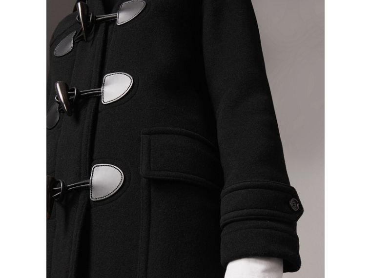 The Mersey Duffle Coat in Black - Women | Burberry Hong Kong - cell image 1