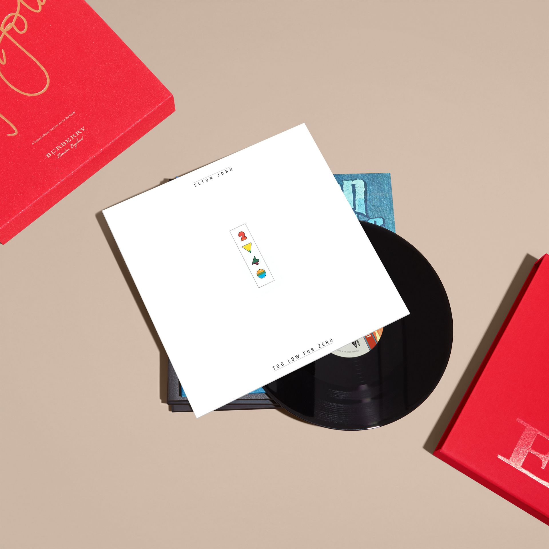 Multicolour Elton John: A Limited Edition Vinyl Box Set for Burberry - gallery image 7