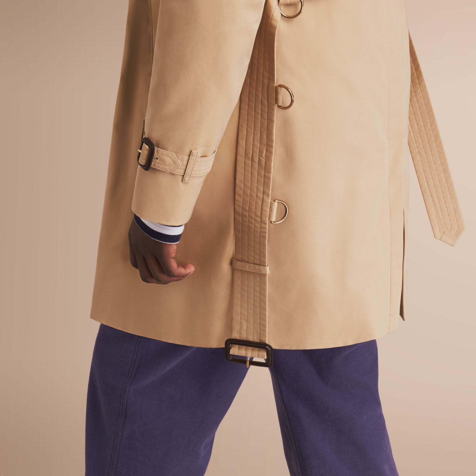 The Kensington – Long Heritage Trench Coat in Honey - gallery image 5