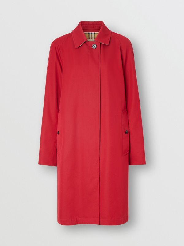 The Camden Car Coat in Parade Red - Women | Burberry - cell image 3