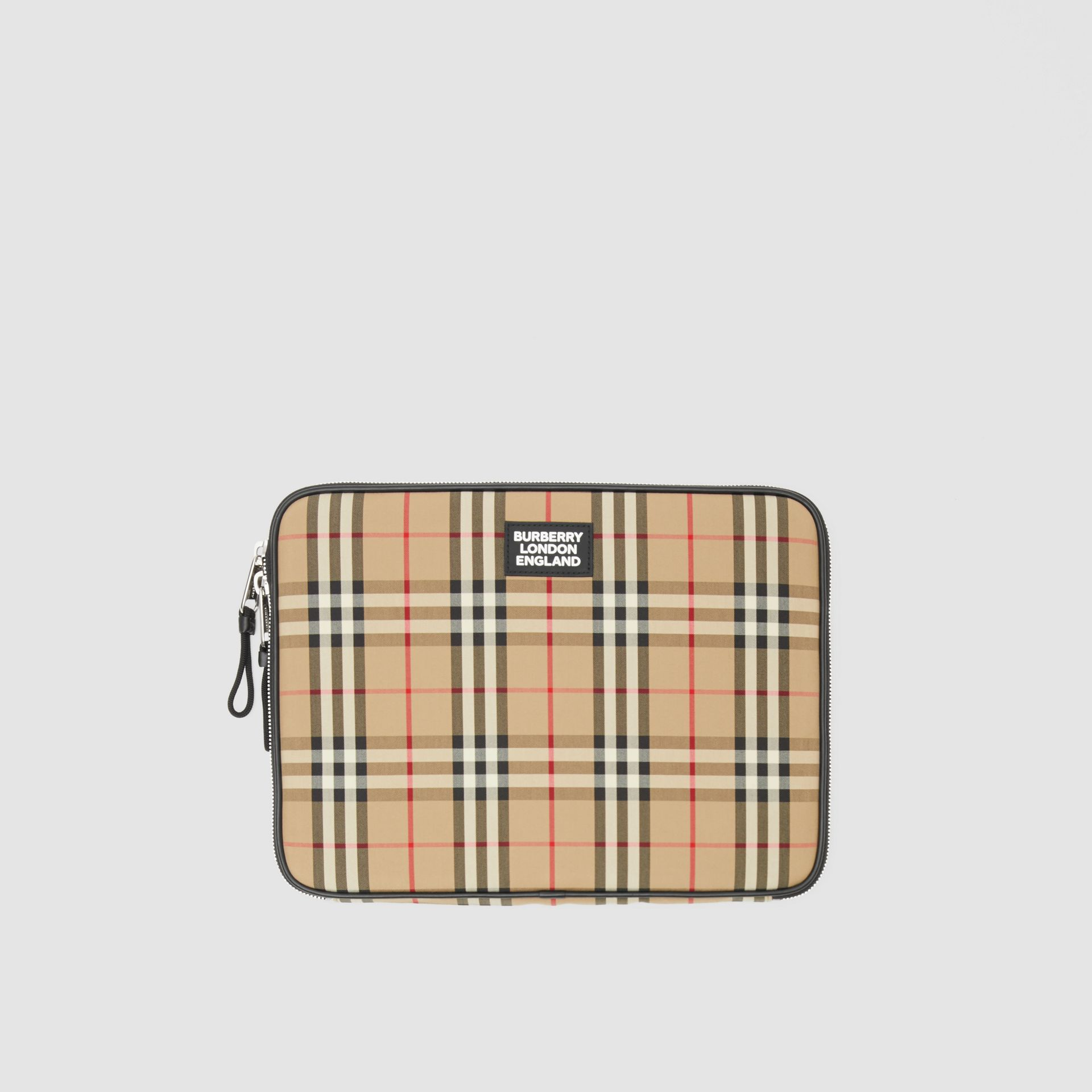 Vintage Check Digital Case in Archive Beige - Men | Burberry Hong Kong S.A.R - gallery image 0