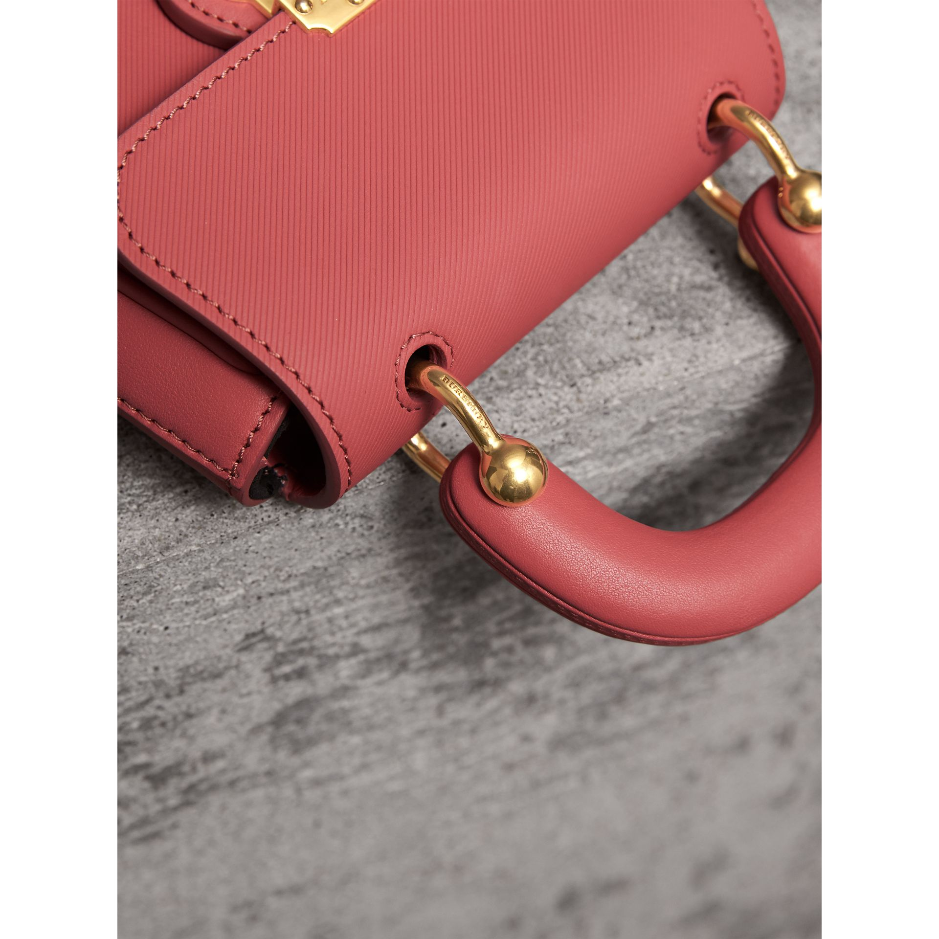 The Mini DK88 Top Handle Bag in Blossom Pink - Women | Burberry - gallery image 1
