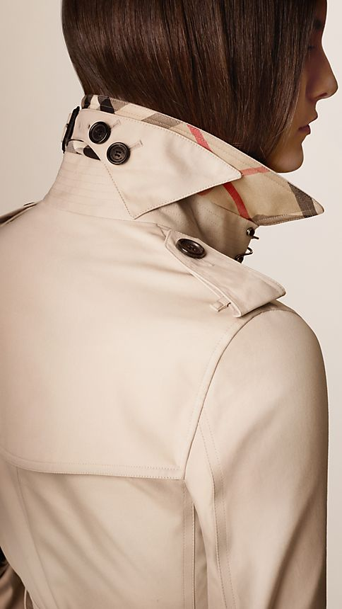 Honey The Kensington - Long Heritage Trench Coat - Image 3