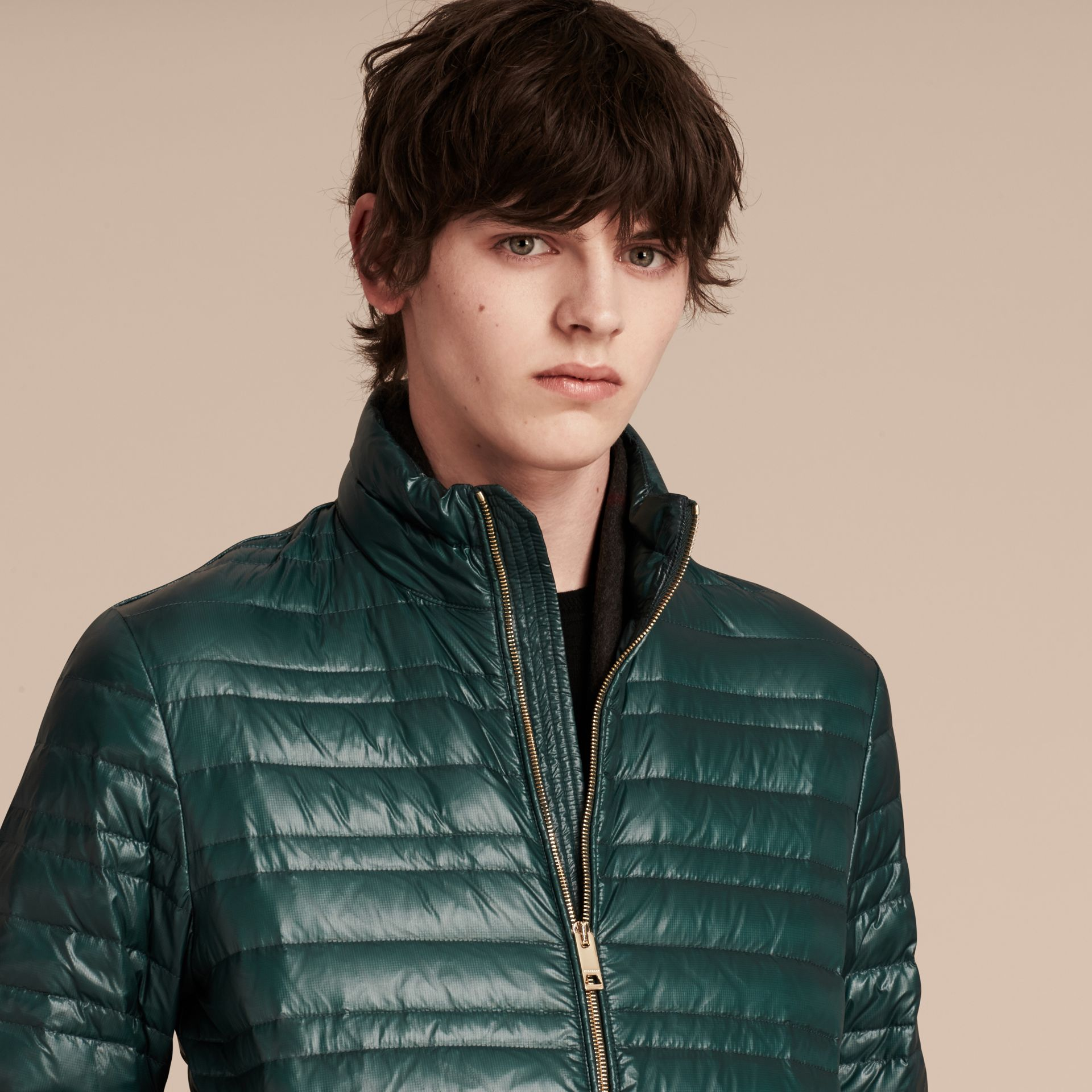 Pine green Lightweight Down-filled Jacket Pine Green - gallery image 5