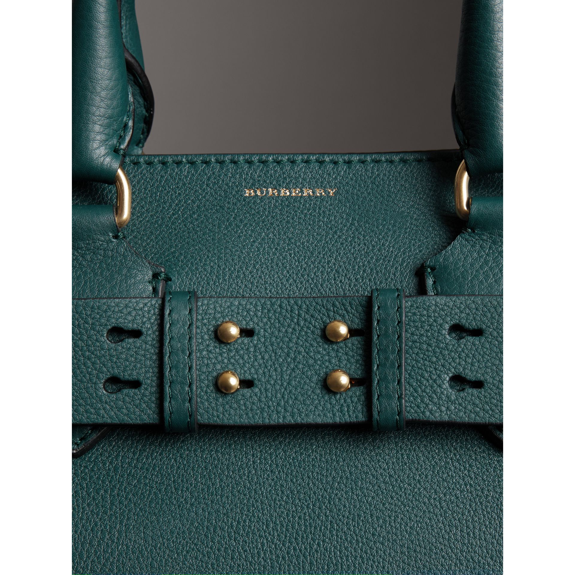 The Medium Belt Bag aus Leder (Dunkles Cyan) - Damen | Burberry - Galerie-Bild 1