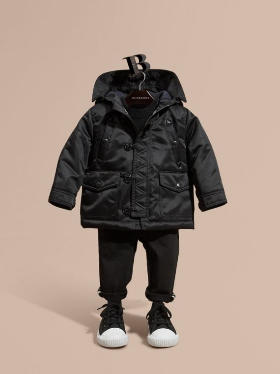 Hooded Technical Parka