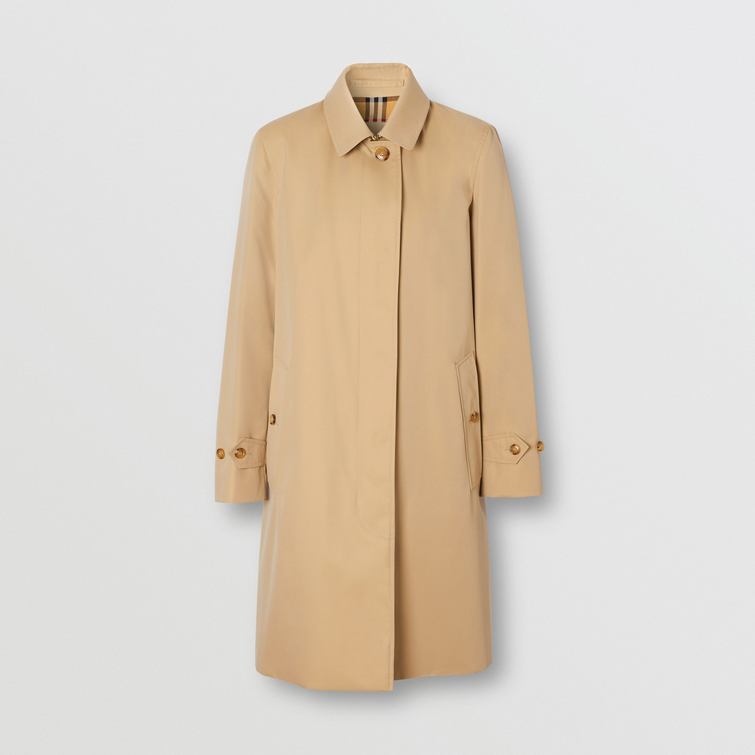 The Pimlico Heritage Car Coat in Honey - Women | Burberry - 4