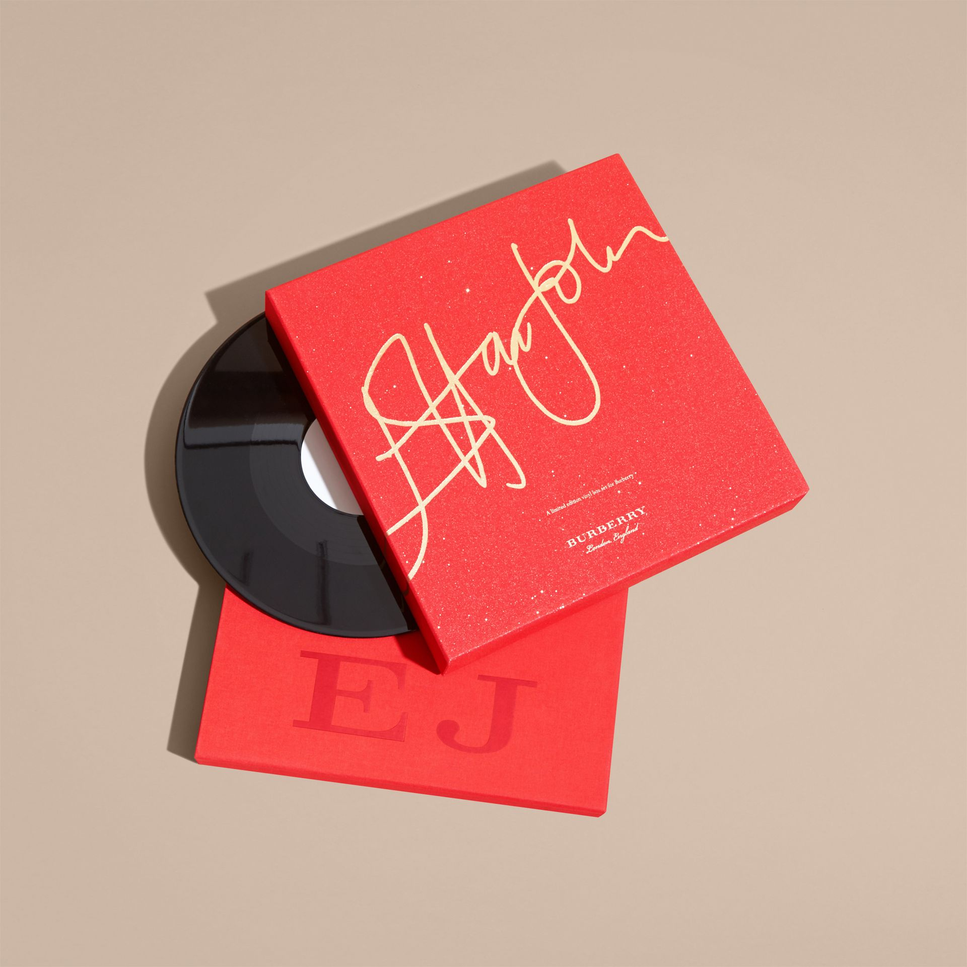 Multicolour Elton John: A Limited Edition Vinyl Box Set for Burberry - gallery image 9