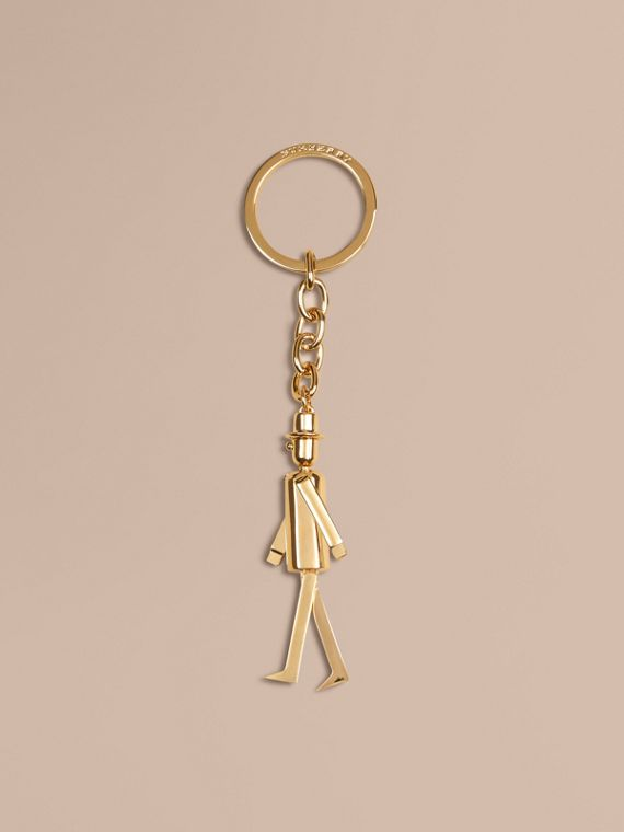 The City Gent Metal Key Charm