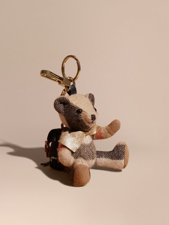 Thomas Bear Charm with Rucksack | Burberry