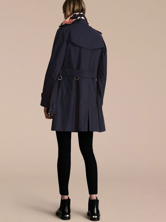 Navy The Westminster – Mid-Length Heritage Trench Coat Navy - cell image 2