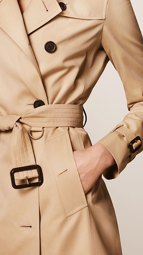 Honey The Kensington - Mid-Length Heritage Trench Coat - Image 4