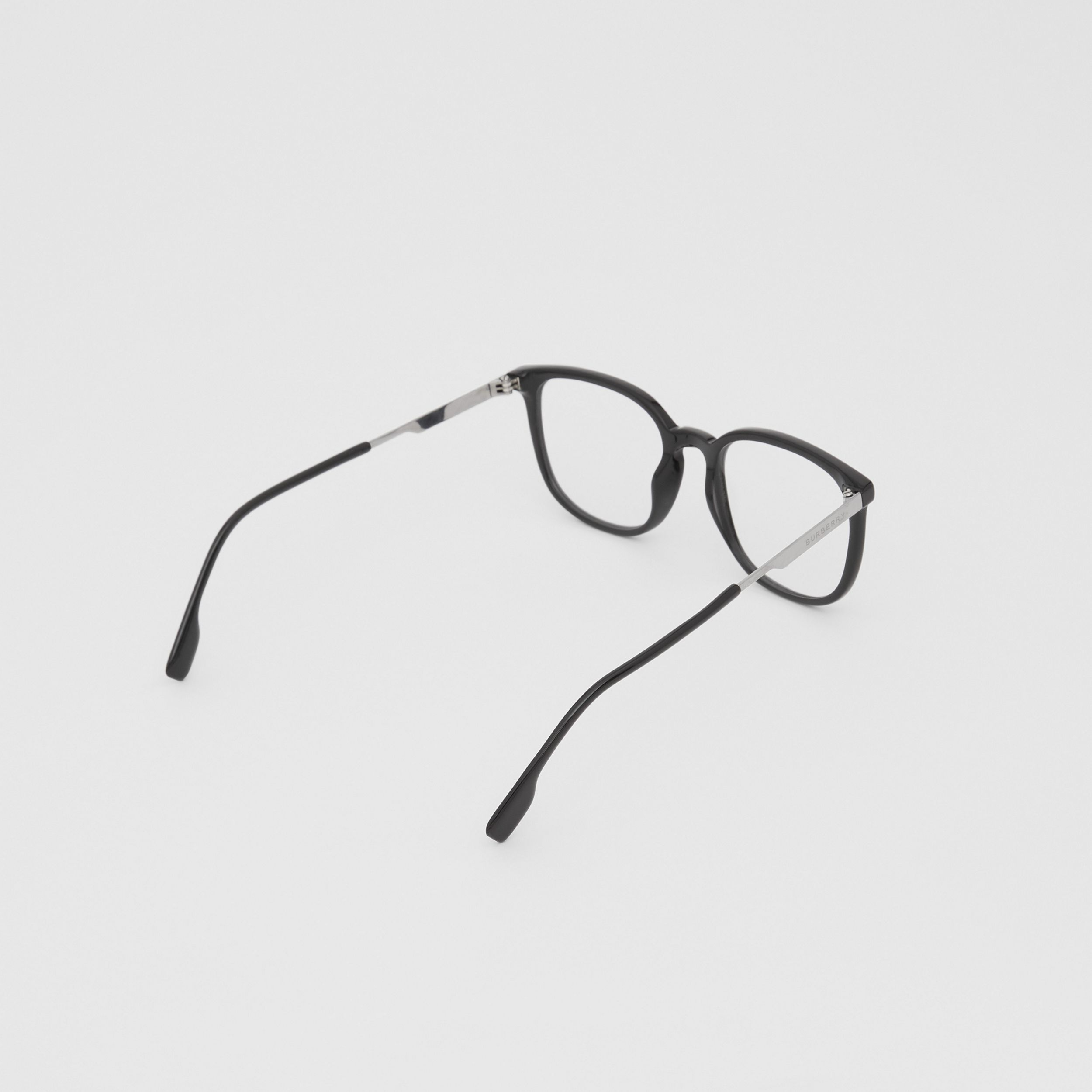 Square Optical Frames in Black | Burberry - 4