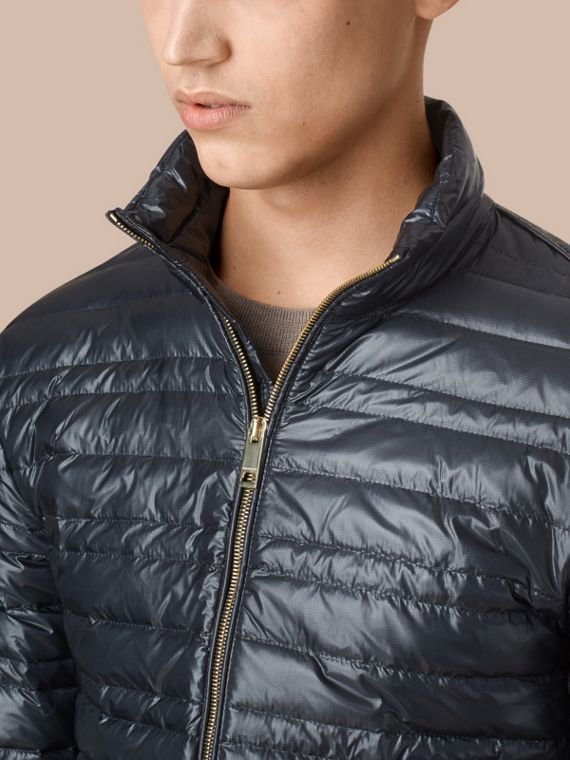 Lightweight Down-filled Jacket Navy - cell image 3