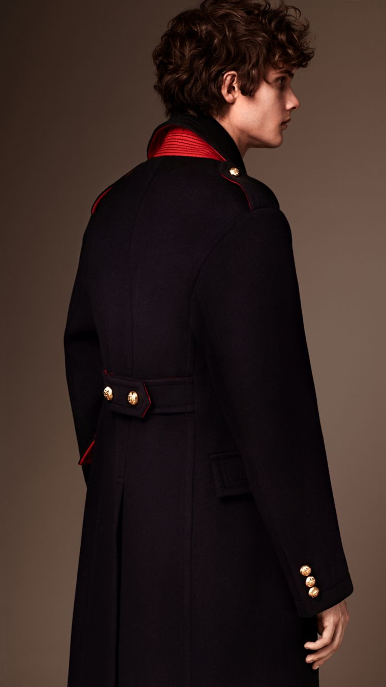 Navy The Military Topcoat - cell image 1