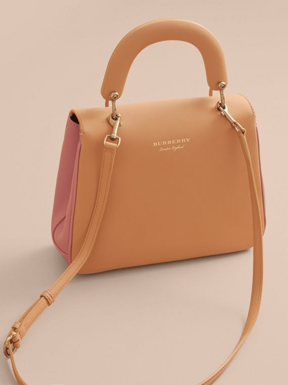 The Medium DK88 Top Handle Bag in Ash Rose/pale Clementine - Women | Burberry Hong Kong - cell image 2