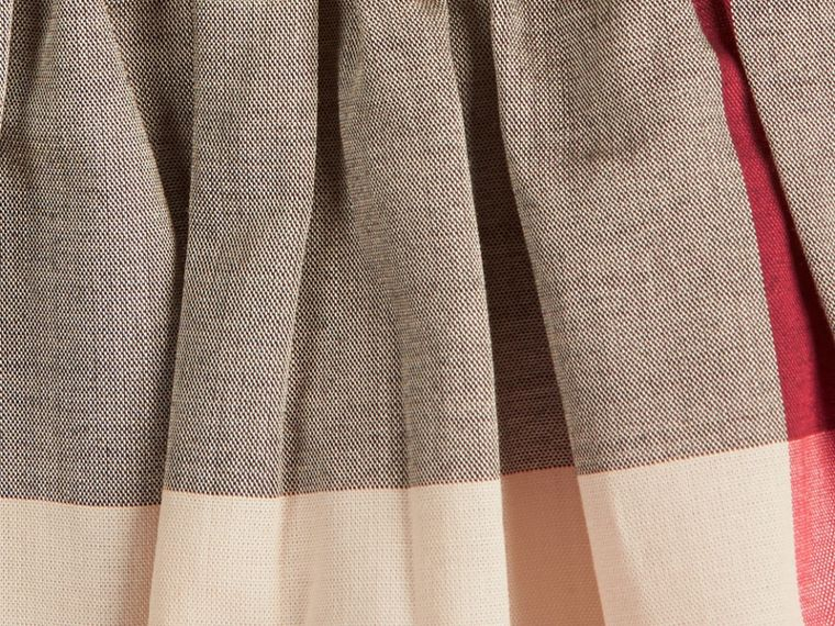 Check Cotton Dress in New Classic - Girl | Burberry - cell image 1