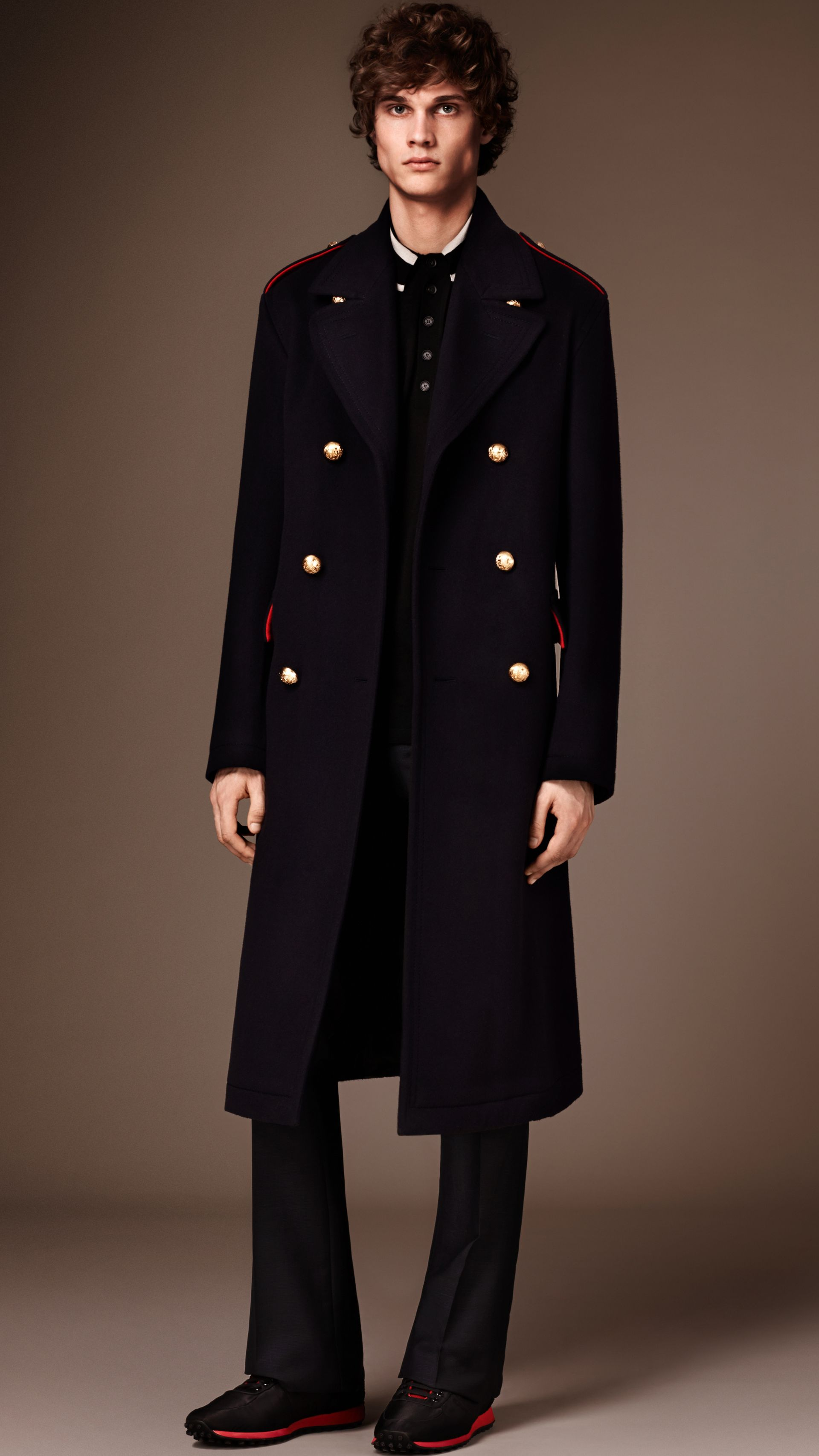 Navy The Military Topcoat - gallery image 1