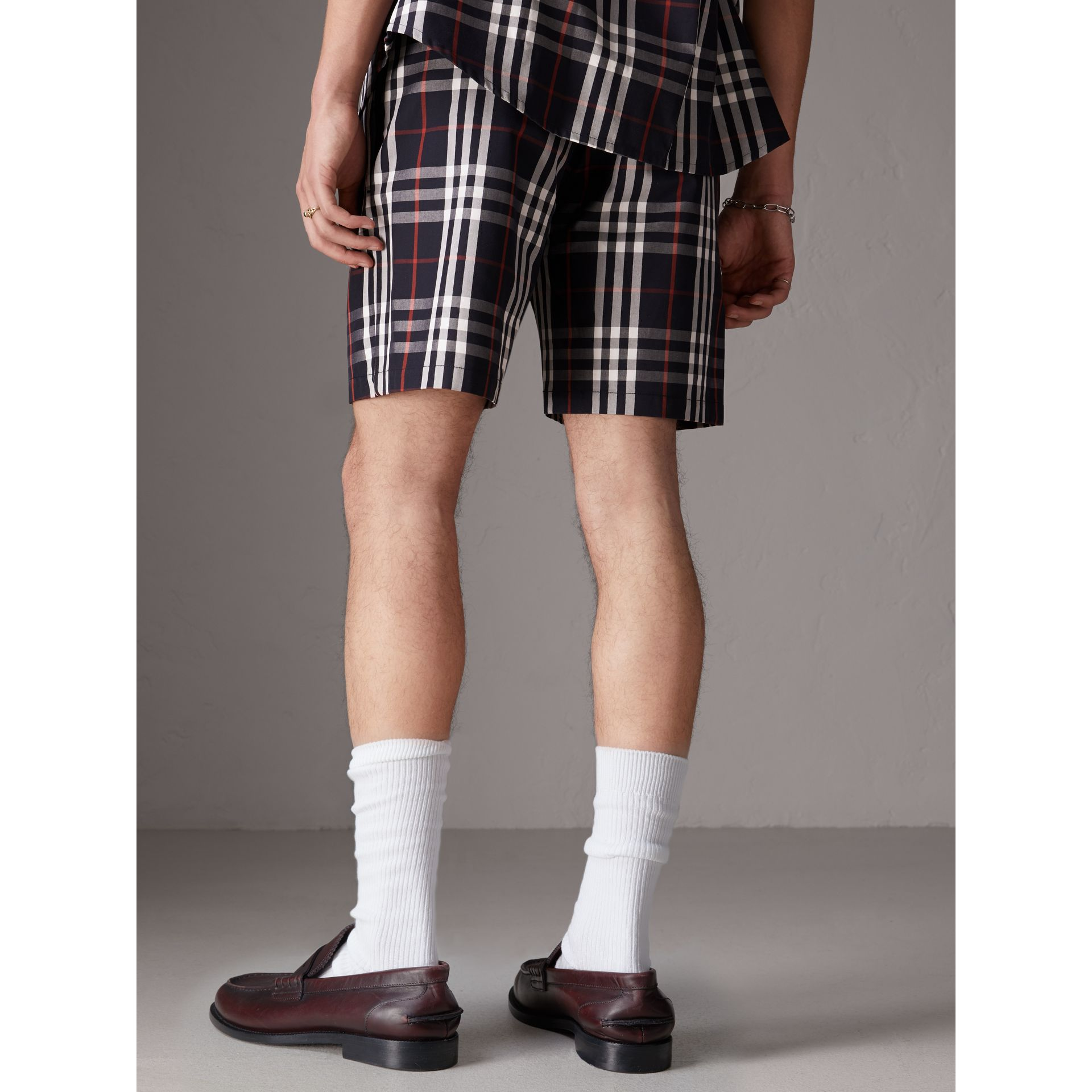 Short ajusté Gosha x Burberry (Marine) | Burberry - photo de la galerie 6