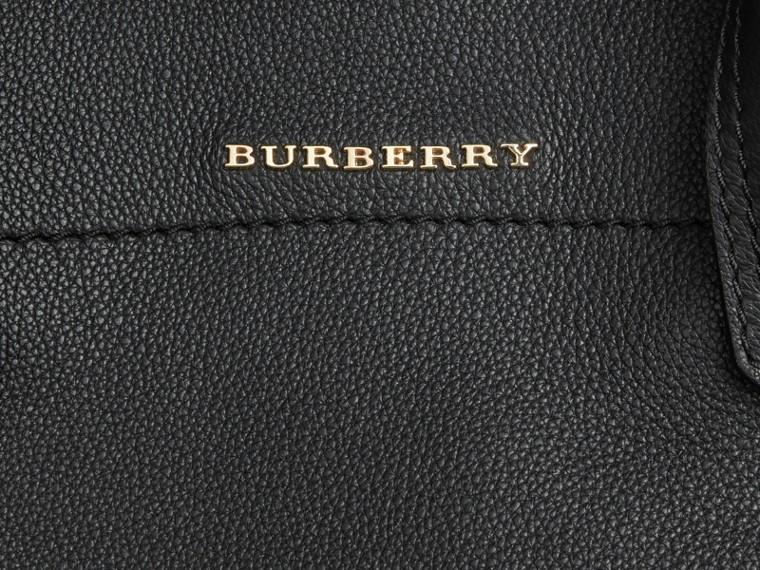 Noir Petit sac The Milton en cuir grené Noir - cell image 1
