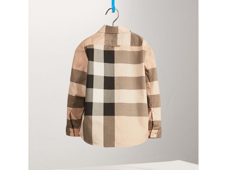 Check Cotton Shirt in New Classic - Boy | Burberry United States - cell image 2