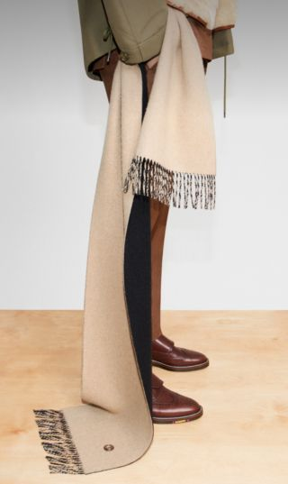 Check Scarves Reimagined