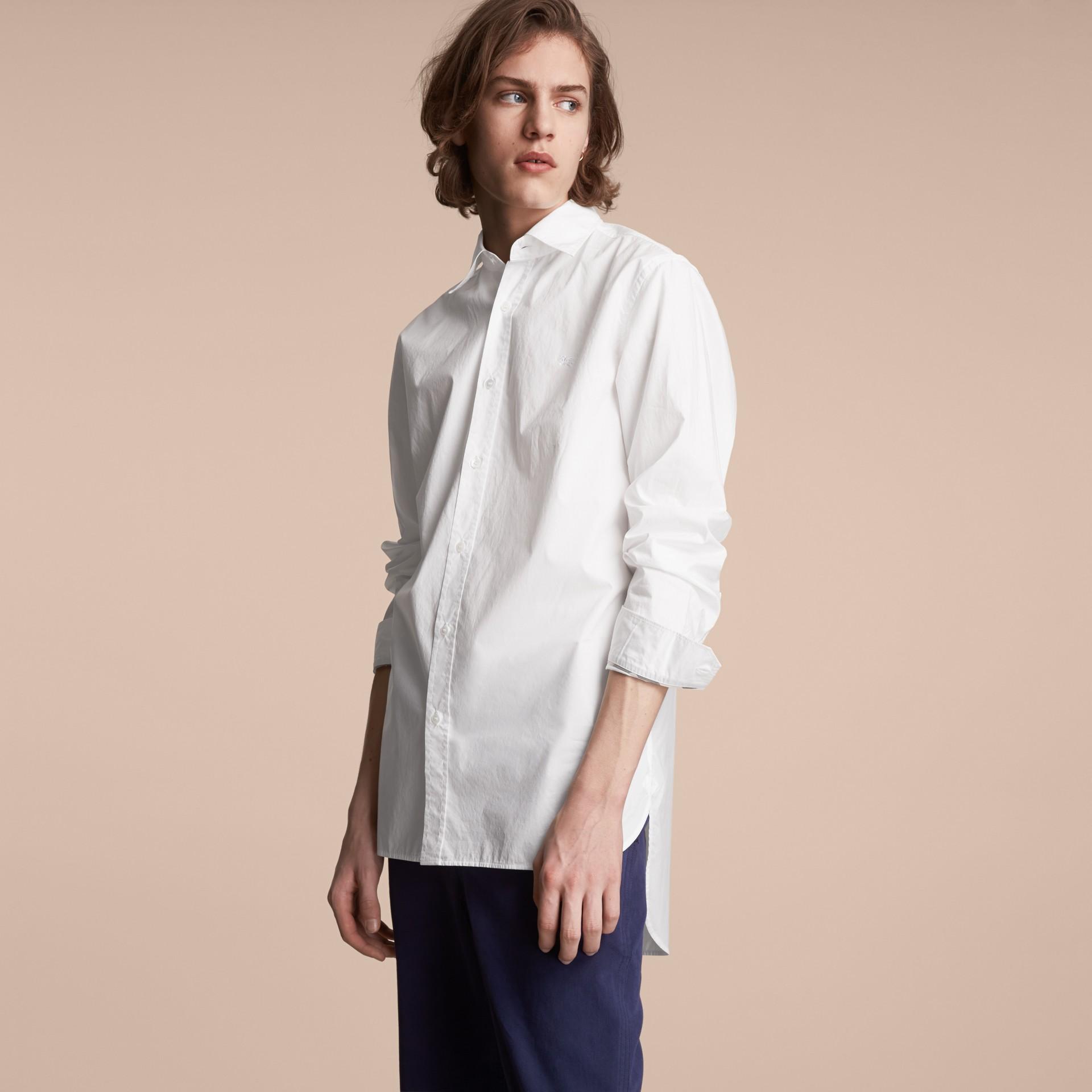 Japanese Cotton Poplin Shirt - gallery image 6