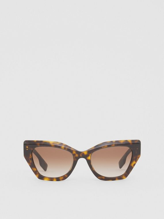 Butterfly Frame Sunglasses in Tortoiseshell