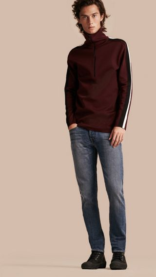Jean skinny en denim selvedge japonais