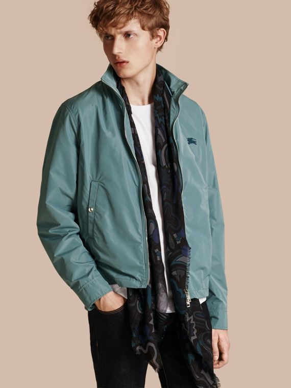Lightweight Technical Jacket Powder Green