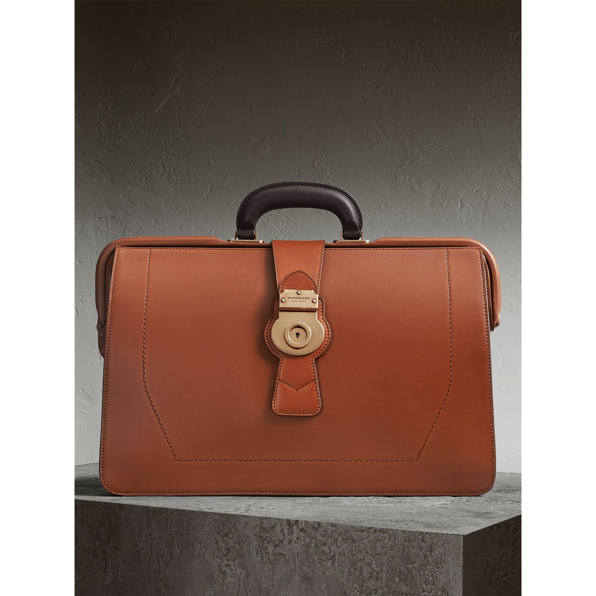 The DK88 Doctor's Bag in Tan - Men | Burberry - gallery image 0